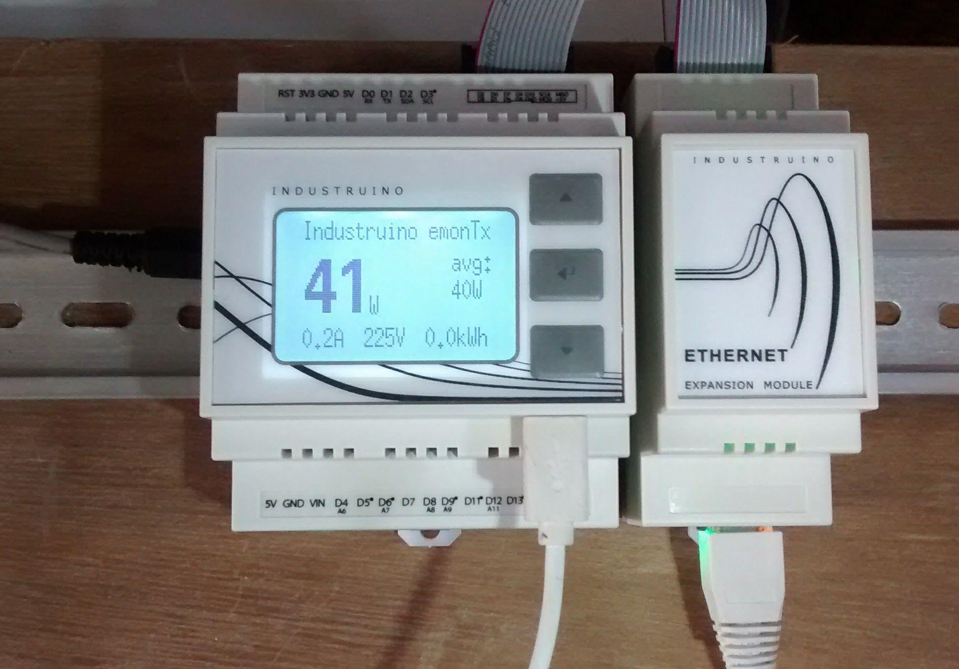 PROTO power meter | Industruino