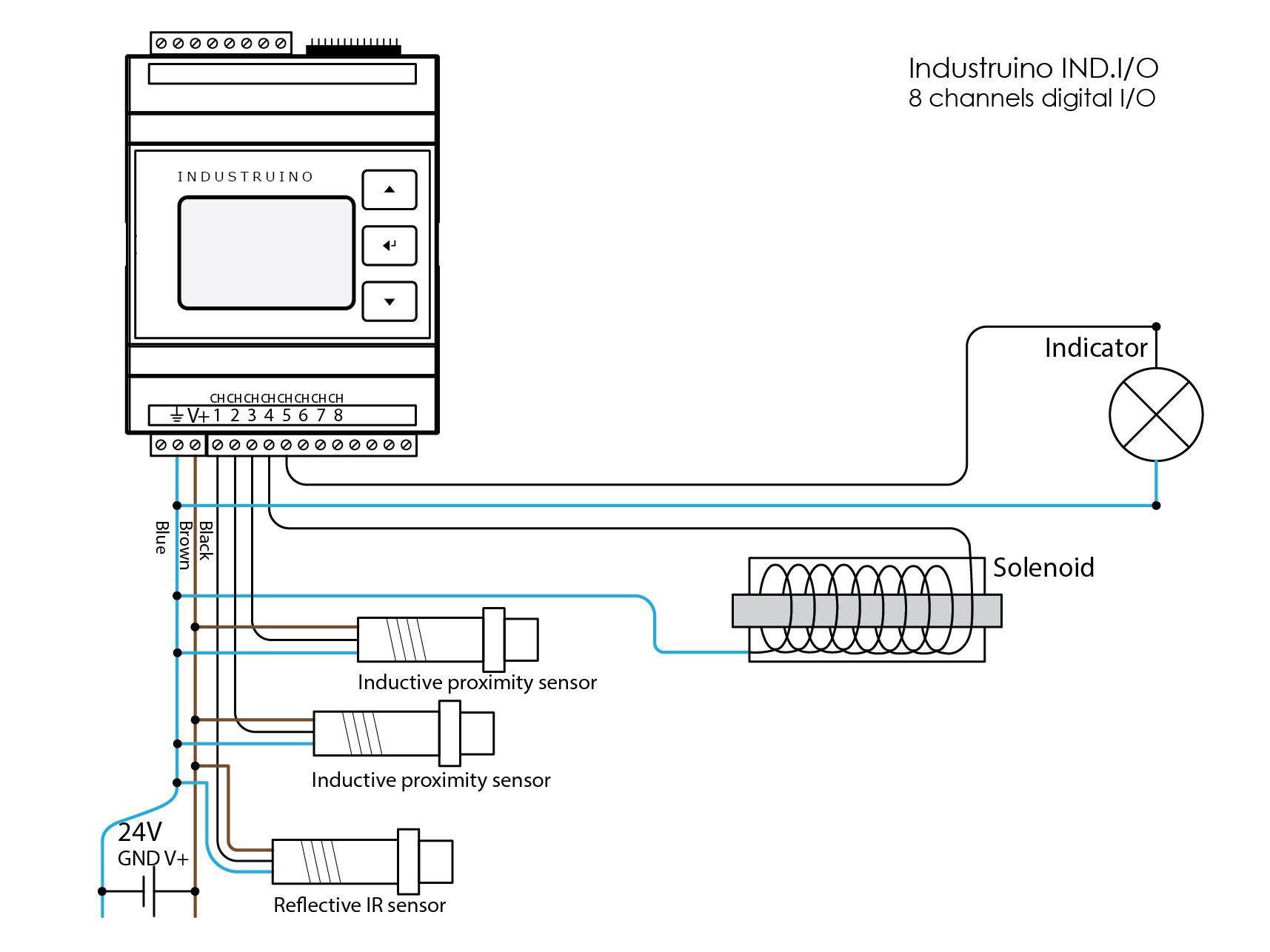 24v Sensor Diagram Wiring Diagrams Schematic